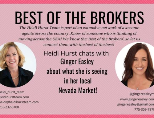 Thank you Heidi for featuring me on the Best of the Brokers!